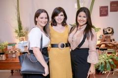 Leidiane Cavalcante, Rafaela Victor e Samantha Dala