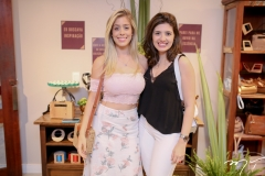 Maria Clara Boris e Camile Bezerra