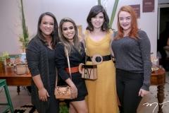 Priscila Alves, Raphaelly Oliveira, Rafaela Victor e Kamylla Borges