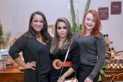 Priscila Alves, Raphaelly Oliveira e Kamylla Borges