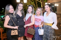 Renata Asfor, Rebeca Moura, Andressa Oestreicher e Lissa do Vale
