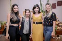 Renata Zeidan, Adriana Loureiro, Rafaela Victor e Giovana Franco