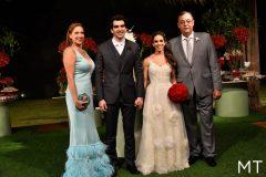 Ana Cláudia Canamary, Raphael Nogueira, Manuela Rolim e Aristenio Canamary