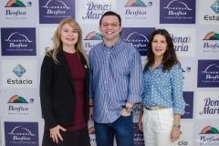 Marcirlene Pinheiro, Tadeu Belfort e Melissa Soares