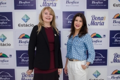 Marcirlene Pinheiro e Melissa Soares