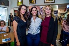 Melissa Soares, Débora Paiva e Marcilene Pinheiro