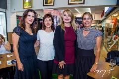 Melissa Soares, Sílvia Lombardi, Marcilene Pinheiro e Catarina Rohsler