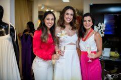 Marcela Rebolças, Rebeca Sampaio e Lara Rosado