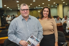 Cláudio Nogueira e Ticiana Gentil