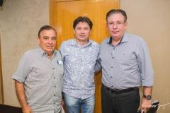 Cláudio Targino, Edgar Gadelha e Ricardo Cavalcante