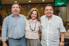 João Mendonça, Roseane Medeiros e Gera Teixera
