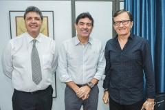 Marcos Oliveira, Alexandre Pereira e Hélio Perdigão