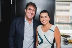 Luiz Gastão Bittencourt e Márcia Travessoni