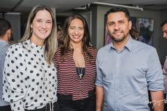 Maria Tereza Ramos, Maura Maia e Alexandre Medina