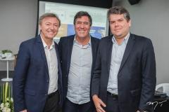 Maurício Filizola, Luiz Gastão Bittencourt e Fábio Zech
