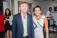 Maurício Filizola e Márcia Travessoni