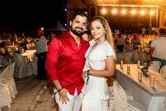 Berguisson Alves e Viviane MAtos
