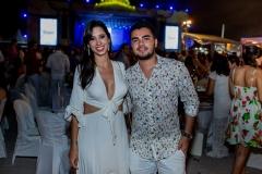 Fernanda Machado e Felipe Medeiros