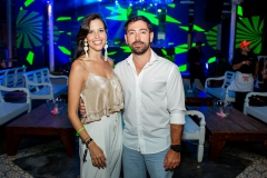 Isabela Bertolino e Pedro Luís