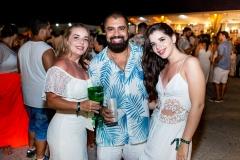 Lenilda Luna, Renato Figueiredo e Mariana Luna