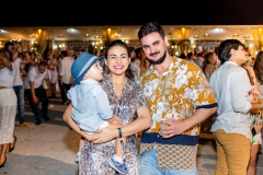 Natane e Dominíque Ribeiro e Luan Vieira