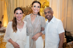 Flora Gil, Andrea Natal e Gilberto Gil