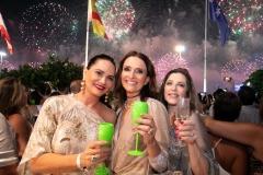 Luiza Brunet, Andrea Natal e Andrea Repsold