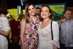 Carol Bezerra e Angela Rocha
