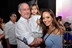 Ciro Gomes, Gael Gomes e Giselle Bezerra