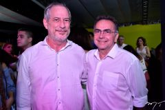 Ciro Gomes e Leonidas Cristino