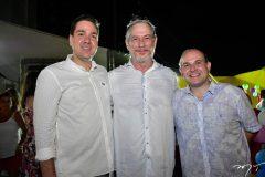 Eduardo Bismark, Ciro Gomes e Roberto Claudio
