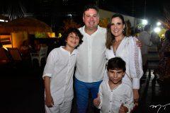 Pedro, Samuel, Erica e João Dias