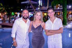 Danilo Divino, Rita de Cássia e Jonatas Oliveira