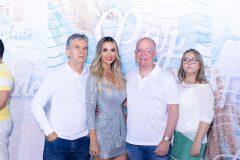 Fabiano e Janaina Girão, Rui Almeida e Socorro Girão