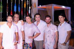 Hugo Mari, André Santiago, David Brazil, Hermano Bezerra, Saulo Carrilho e Victor Braynner