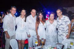Robert e Fernanda Bezerra, Gil Gradvohl, Cláudia Bezerra e Elisa Gradvohl