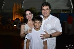 Anirce, João Miguel e Roberto Castro