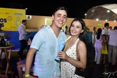 Cristiano Rodrigues e Rafaela Melo