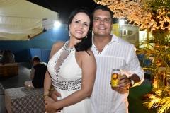Cristina Leite e Cesar Santos