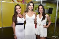 Dayane Lima, Marina Catunda e Ana Livia Coelho