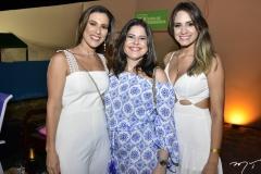 Erica Dias, Roberta Pinheiro e Luana Felipe