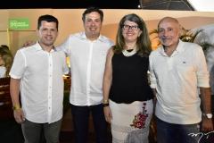 Erick Vasconcelos, Samuel Dias e Joana e Miguel Maciel