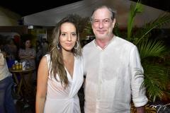 Gisele Bezerra e Ciro Gomes