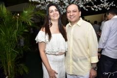 Natania Barbosa e Alessandro Padilha