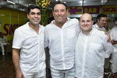 Queiroz Filho, Mauricio Pinheiro e Roberto Cláudio Bezerra