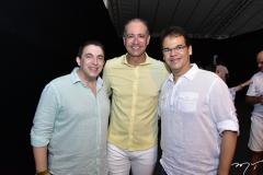 Rodrigo Pereira, Regis Medeiros e Marcelo Pinheiro