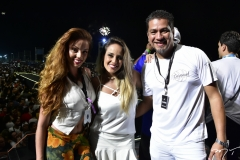Vitória Oliverira, Luiza Sabino e Fernando Rocha