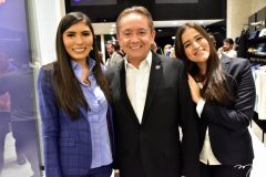 Ana Paula Carneiro, Cícero Rocha e Mariana Martins