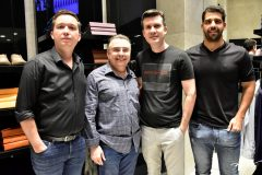 Gledson Sousa, Valdemar Barros, Adson Pontes e Marcos Miller