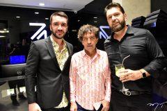 Gleyson Pontes, Ricardo Almeida e Elinaldo Diniz
